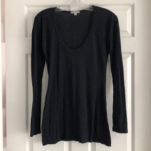 James Perse Long Sleeve knit